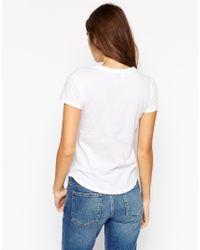 ASOS - White The Crew Neck T-shirt - Lyst