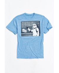 Urban Outfitters | Blue Star Wars Jedi Mind Trick Tee for Men | Lyst