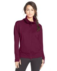 Zella | Purple Zen Again Shell Jacket | Lyst
