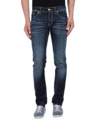 Dondup | Blue Denim Pants for Men | Lyst