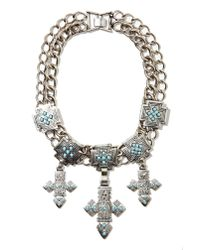 Nasty Gal - Blue Sonora Chocker - Lyst