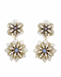 Tataborello | Purple Girasole Crystal Earrings | Lyst