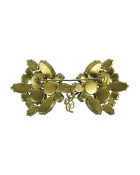 DSquared² | Green Brooch | Lyst