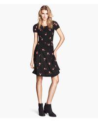 H&M - Multicolor Viscose Dress - Lyst
