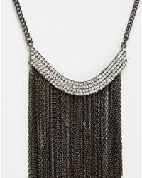 Coast | Metallic Statement Tassel Necklace | Lyst