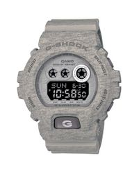 G-Shock - Gray Xl Print Resin Digital Watch for Men - Lyst