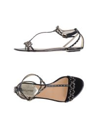 DSquared² - Black Sandals - Lyst