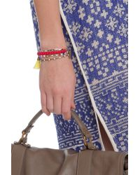 Isabel Marant - Multicolor Multi Bead Bracelet - Lyst
