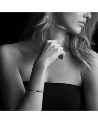 David Yurman | Black & Gold Cable Bracelet | Lyst