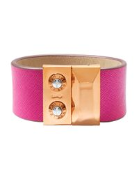 Henri Bendel | Metallic Carlyle Strap Bracelet | Lyst