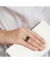 Shaun Leane | Exclusive Black Diamond Cherry Blossom Ring | Lyst