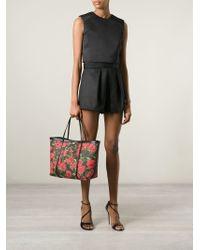 Dolce & Gabbana - Black 'Escape' Shopper Tote - Lyst