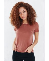 Truly Madly Deeply | Brown Marnie Tee | Lyst