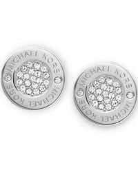 Michael Kors - Metallic Mkj3352040 Womens Earrings - Lyst