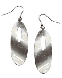 Nakamol | Multicolor Ripple Effect Earrings-gunmetal | Lyst