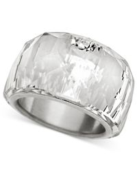Swarovski | Natural Crystal Ring | Lyst