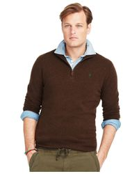 Polo Ralph Lauren | Brown V-neck Sweater for Men | Lyst