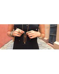 Jenny Bird - Metallic Chain Fringe Cuff - Lyst