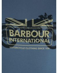 Barbour | Blue T-shirt for Men | Lyst