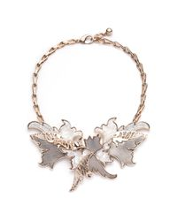 Lulu Frost - Metallic Nightshade Layered Necklace - Lyst