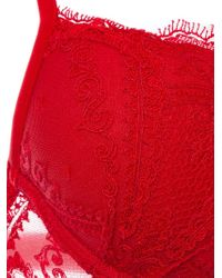 La Perla | Red 'neoprene Desire' Bra | Lyst