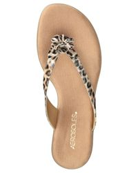 Aerosoles - Multicolor Branchlet Flip Flop Sandals - Lyst