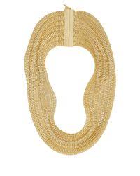 Rosantica - Metallic Goldplated Bianca Necklace - Lyst