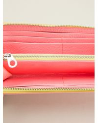 Marc By Marc Jacobs - Pink Sophisticato Slim Purse - Lyst