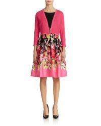 Chetta B | Pink Cropped Cardigan | Lyst