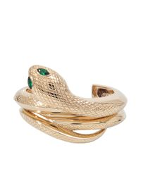 Roberto Cavalli | Metallic Set Of 2 Snake Bracelets | Lyst