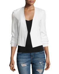 Rebecca Taylor - Pink Refined Stretch Suit Jacket - Lyst