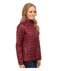Patagonia - Red Nano Puff® Jacket - Lyst