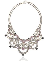 Ziio | Metallic Couture Necklace | Lyst