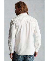 True Religion   White Western Mens Shirt for Men   Lyst