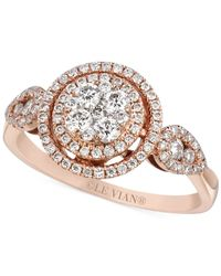 Le Vian | Pink Diamond Circle Ring (2/3 Ct. T.w.) In 14k Rose Gold | Lyst