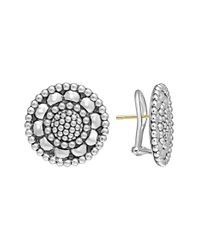 Lagos | Metallic 'voyage' Caviar Stud Earrings | Lyst