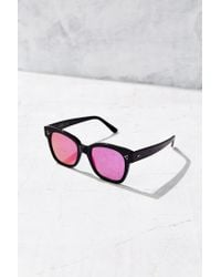 Kyme | Black Terry Square Sunglasses | Lyst