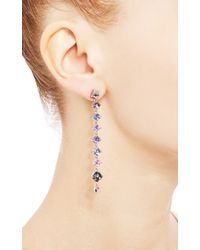 Paolo Costagli - One Of A Kind Valentina Collection Multicolor Sapphire Sugarloaf Earrings - Lyst