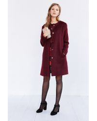 BB Dakota | Purple Reagan Coat | Lyst