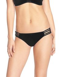 Red Carter - Black 'neo Wave' Hipster Bikini Bottoms - Lyst