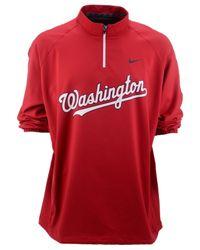 Nike - Red Men's Washington Nationals Hot Corner Jacket for Men - Lyst