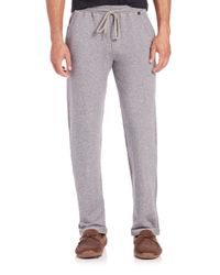 Hanro - Gray Micromodal & Cotton-blend Lounge Pants for Men - Lyst