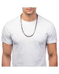 Lulu Frost - Black George Frost 'life' Morse Necklace - Lyst