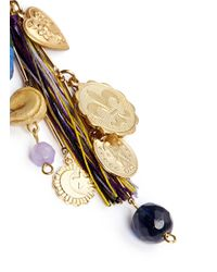 Venessa Arizaga - Multicolor 'the Jungle' Drop Earrings - Lyst