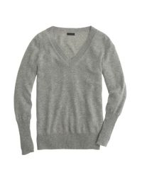 J.Crew | Gray Collection Cashmere V-neck Sweater | Lyst