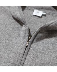 Sunspel | Gray Men's Cashmere Hoody for Men | Lyst