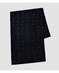 AllSaints - Blue Farley Scarf for Men - Lyst