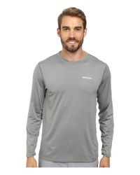 Patagonia | Gray L/s Rø™ Sun Tee for Men | Lyst