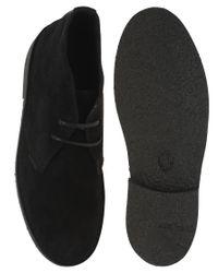 Ben Sherman - Cleg Black Sole Desert Boots for Men - Lyst