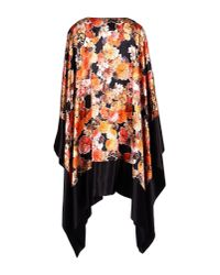 Givenchy - Black Capes & Ponchos - Lyst